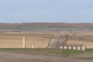 Fracking in North-Dakota. In Deutschland so nicht erlaubt, noch nicht. Das Freihandelsabkommen könnte den Weg ebnen, befürchten Kritiker. Foto: fotolia