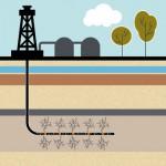 Fracking: eine umstrittenen Technik, mit der Gas aus dem Gestein im Untergrund gelöst wird.   Foto:  Trueffelpix/Fotolia.com