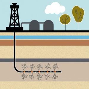 Fracking: eine umstrittenen Technik, mit der Gas aus dem Gestein im Untergrund gelöst wird.   Foto: fotolia