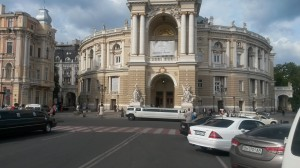 Old and new wealth in Odessa.  Foto: inav