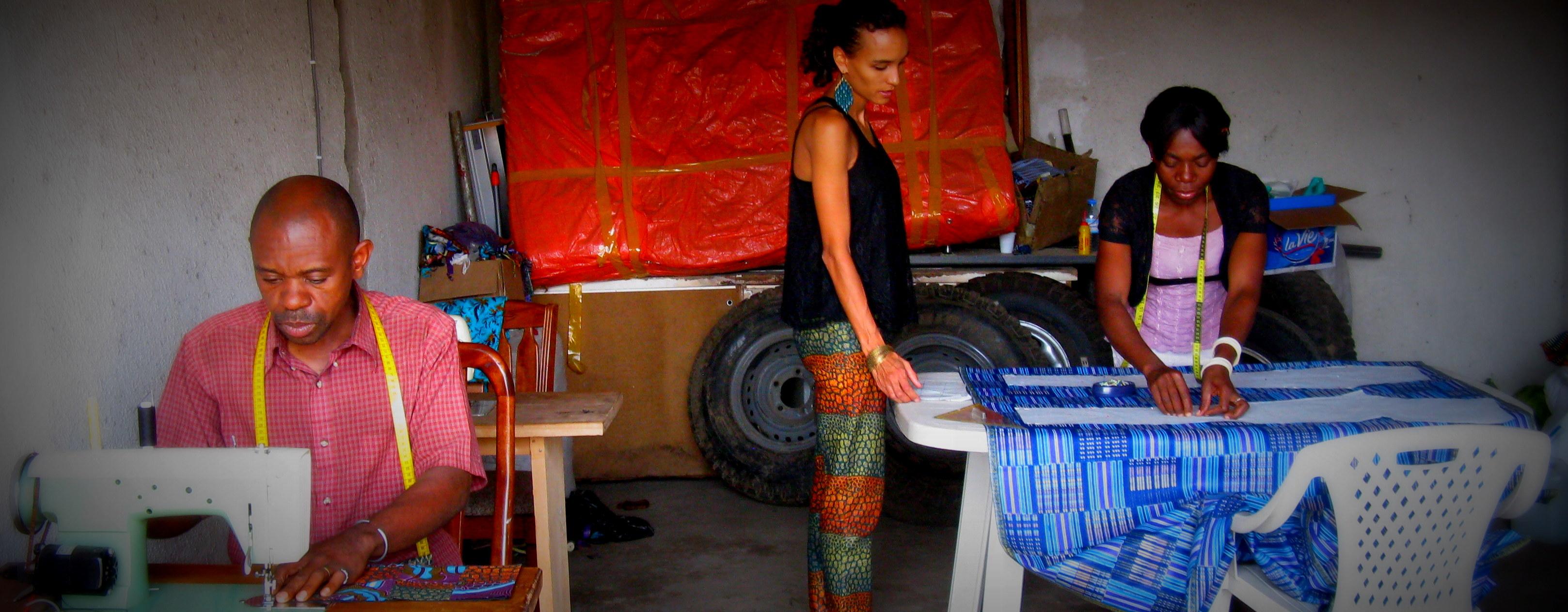 Hosen statt Hilfe – Mode aus dem Ostkongo