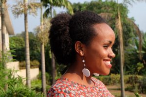 Sarah Mutesi ist jetzt natürlich glücklich. Foto: JR