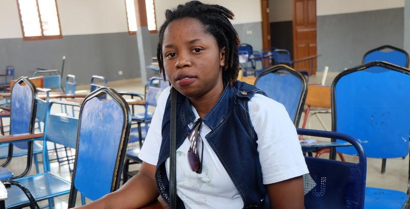 Rebecca Kabugho kämpft im Kongo für Menschenrechte. Foto: JR