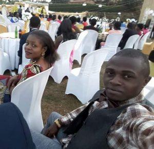 Reagan Mwanaweka und Adèle Mwasimuke trauen sich in anderer Weise: Sie haben den Mut, zu einer Hochzeit nach Ruanda zu fahren. Foto: privat